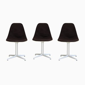 La Fonda Chairs by Charles and Ray Eames for Herman Miller, 1961, Set of 3