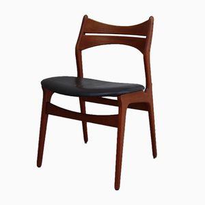 Vintage Modell 310 Stuhl aus Teak von Erik Buch für Christiansen Møbelfabrik