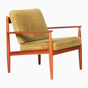 Teak Club Chair by Grete Jalk for France & Søn, 1960s