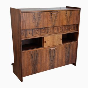 Vintage Model SK 661 Dry Bar in Rosewood by Johannes Andersen for Skaaning & Søn, 1960s
