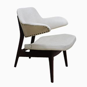 Vintage Armchair by Louis Van Teeffelen for Wébé, 1960s