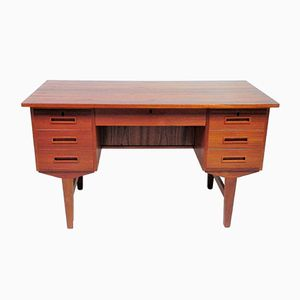 Vintage Scandinavian Teak Office Desk