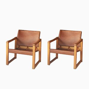 Diana Safari Chairs by Karin Mobring for Ikea, 1970s, Set of 2