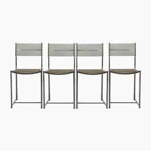 Spaghetti Chairs by Giandomenico Belotti for Alias, 1970s, Set of 4