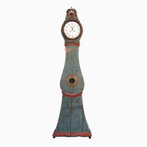 Antike Schwedische Rokoko Mora Uhr
