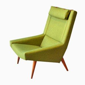 Vintage Sessel mit Hoher Rückenlehne von Illum Wikkelso für Soren Willadsen