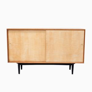 Mid-Century Mahogany and Satinwood Sideboard
