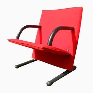 Vintage T-Line Sessel von Burkhard Vogtherr für Arflex