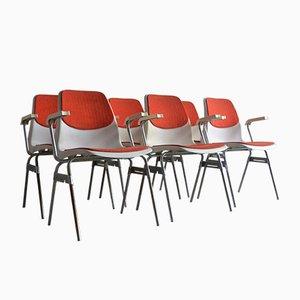 Stühle von Lübke, 1970er, 6er Set
