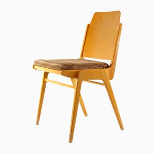 Vintage Plywood Chair by Franz Schuster for Wiesner-Hager