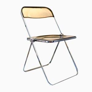 Vintage Plia Stuhl von Giancario Piretti für Castelli