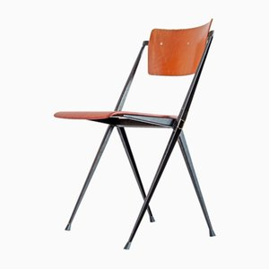Vintage Pyramid Chair by Wim Rietveld for Ahrend Cirkel