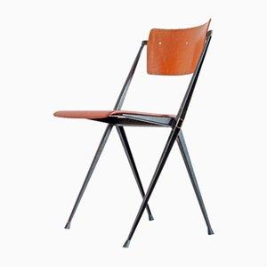 Vintage Pyramid Stuhl von Wim Rietveld für Ahrend Cirkel