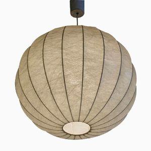 Große Runde Vintage Cocoon Hängelampe von Achille Castiglioni & Pier Giacomo Castiglioni für Flos