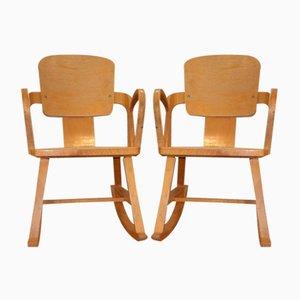 Rocking Chairs de Per Aaslid, Norvège, 1952, Set de 2