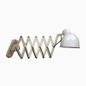 Lampe à Ciseaux Vintage Industrielle Beige