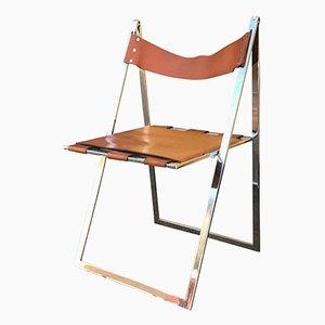 Vintage Italian Elios Chair by Colle D'Elsa