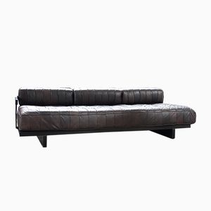 Vintage Leather Daybed by De Sede