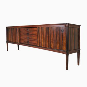 Mid-Century Danish Rosewood Sideboard by H. W. Klein for Bramin