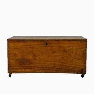 Antique Camphor Wooden Trunk