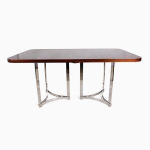 Table de Salle à Manger en Palissandre et Chrome par Richard Young pour Merrow Associates, 1960s