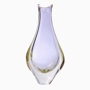 Vintage Fisch Vase von Michael Harris für Mdina Glass