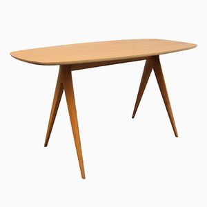 Table Basse en Merisier, 1950s