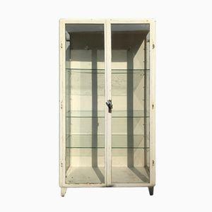 Vintage Steel Medical Cabinet