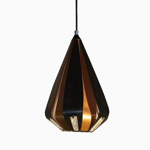 Mid-Century Teardrop Shaped Pendant Light by Werner Schou