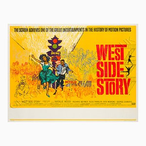 Poster vintage del film West Side Story, 1961