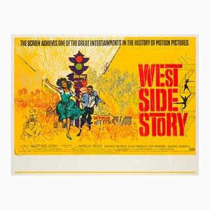Poster vintage del film West Side Story, 1961