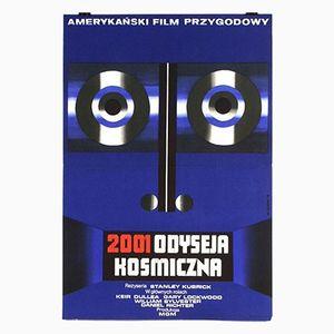 Poster de Film 2001: A Space Odyssey par Wiktor Górka, 1973