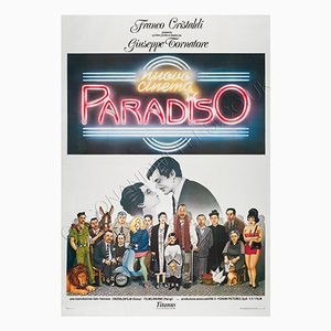 Italienisches Cinema Paradiso Filmplakat, 1988