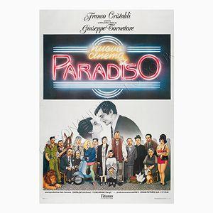 Poster du Film Cinema Paradiso, Italie,1988