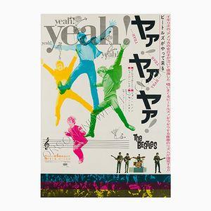 Japanisches Yeah Yeah Yeah Filmplakat, 1964