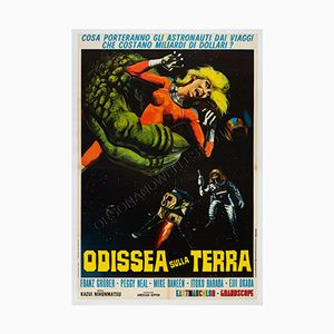 Poster du Film X from Outer Space Film Poster, Italie,1969