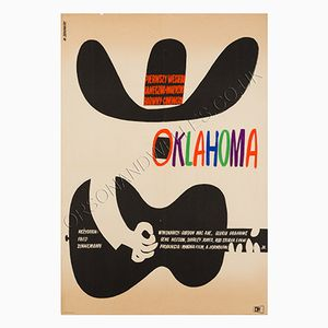 Oklahoma Film Poster by Witold Janowski, 1964