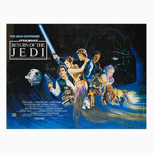 The Return of the Jedi Film Poster, 1983