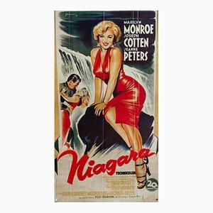 Poster du Film Niagara Vintage par Boris Grinsson, France