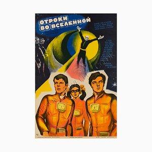 Poster du Film Teens in the Universe par Korf, 1974