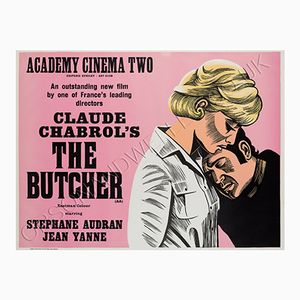 The Butcher Film Poster by Peter Strausfeld, 1970s