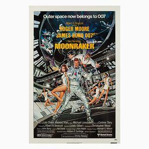 Poster du Film Moonraker par Daniel Goozee, 1979