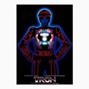 Poster vintage del film TRON, Giappone, 1982