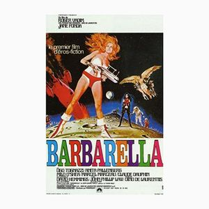 Vintage Barbarella Poster by Robert McGinnis