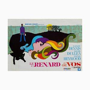Poster del film La Volpe, 1967