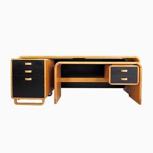 Vintage Beech Desk by Rud Thygesen & Johnny Sørensen for Magnus Olesen