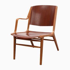 Mid-Century AX Stuhl von Peter Hvidt & Orla Mølgaard-Nielsen für Fritz Hansen
