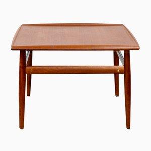 Table Basse en Teck par Grete Jalk pour France & Søn, Danemark, 1960s