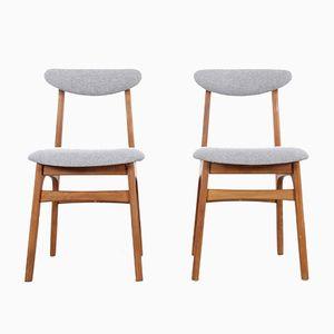 Modell 200-190 Stühle von Rajmund Teofil Hałas für Paczków, 1960er, 2er Set