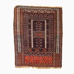 Handgeknüpfter Turkoman Hachli Teppich, 1950er